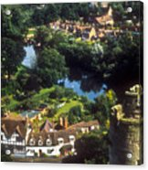 A View From Blarney Castle In Ireland Acrylic Print
