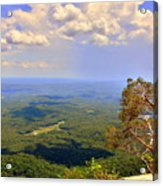 A View From Table Rock Acrylic Print