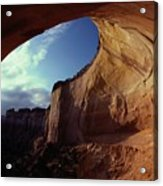 A View From The Mouth Of A Cave Of Echo Acrylic Print
