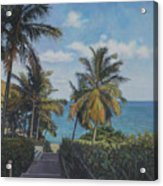 A View In The Virgin Islands Acrylic Print