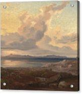 A View Of Aegina Acrylic Print