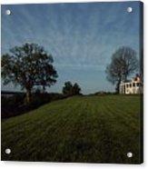 A View Of Mount Vernon, The Home Acrylic Print