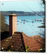 A View Of Mylor Harbour Acrylic Print