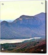 A View Of Table Rock South Carolina Acrylic Print