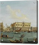 A View Of The Bacino Di San Marco Acrylic Print