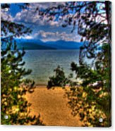 A View Of The Lake Acrylic Print