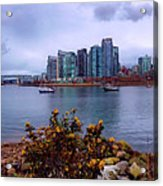 A View Of Vancouver Acrylic Print