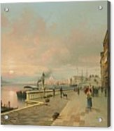 A View Of Venice Acrylic Print