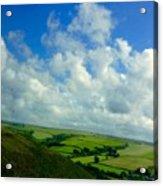 A View Over Exmoor Acrylic Print