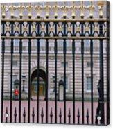 A View Through The Gates At Buckingham Acrylic Print