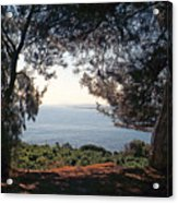 A View To The Sea Acrylic Print