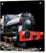 A Vintage Steam Train Acrylic Print