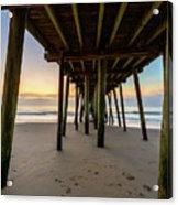 A Virginia Beach Morning Acrylic Print