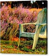 A Visit With Heather Acrylic Print