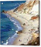 A Walk Along Aquinnah Beach Acrylic Print