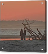 A Walk At Sunset Acrylic Print