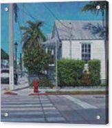 A Walk In Key West Acrylic Print