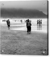 A Walk In The Mist Acrylic Print