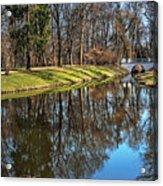 A Walk In The Park Lazienki Warsaw Acrylic Print