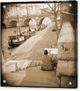 A Walk Through Paris 1 Acrylic Print