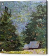 A Walk To Great Meadow Acrylic Print