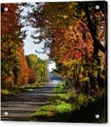 A Warm Fall Day Acrylic Print