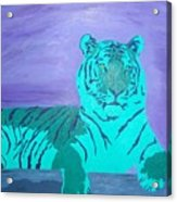 A Watchful Queen Acrylic Print