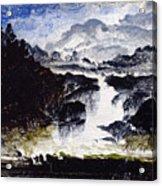 A Waterfall Acrylic Print