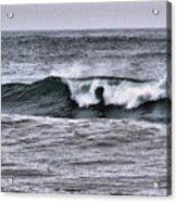 A Wave On The Ocean Acrylic Print