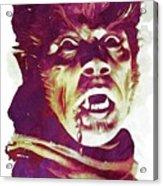 A Werewolf In London Acrylic Print