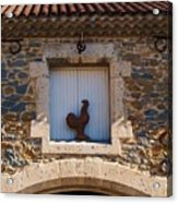 A Whimsical Wall In Lezignan, France Acrylic Print