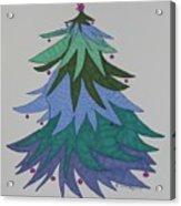 A Wild Christmas Tree Acrylic Print