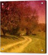 A Winding Road - Bayonet Farm Acrylic Print
