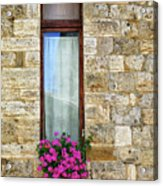 A Window In Florence Acrylic Print