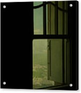 A Window Out To The Sea Acrylic Print