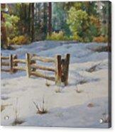 A Winter Morning Acrylic Print