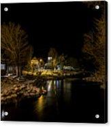 A Winter's River Acrylic Print