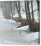 A Winter's Scene Acrylic Print