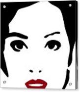 A Woman In Fashion Acrylic Print by Frank Tschakert