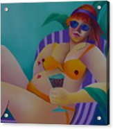 A Woman Of Leisure Acrylic Print