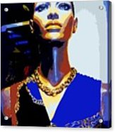 A Womans Strength Acrylic Print