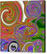 A World Of Lollipops Acrylic Print