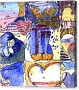 A Zanny Valentine Acrylic Print