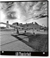 A10 Thunderbolt Acrylic Print