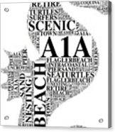 A1A Acrylic Print