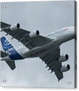 A380 Airbus In Flight Acrylic Print