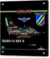 A4-c Skyhawk Vsf Acrylic Print