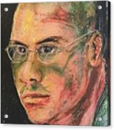 Aaron With Glasses Acrylic Print