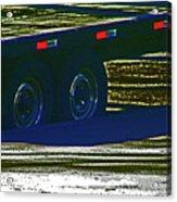 Aaron's Flatbed Acrylic Print