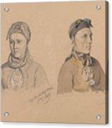 Aase Rasmusdatter Stranden And Anna Troelsdatter Kittelsviken Acrylic Print